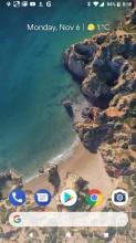 Home screen - Google Pixel 2 review