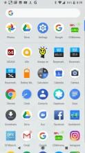 App Drawer - Google Pixel 2 review