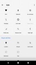 Edit Toggles - Google Pixel 2 review