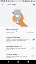 Active Edge Settings - Google Pixel 2 review