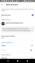 Unlimited backup for Pixel - Google Pixel 2 review