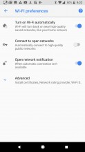 Wi-Fi network automatically turned on/off - Google Pixel 2 review