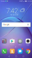 Home screen 1 - Huawei Honor 6x review