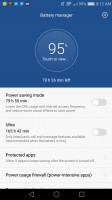 Battery management options - Huawei Honor 6x review