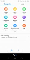 Very good file manager - Huawei Mate 10 Lite review
