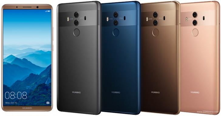Huawei mate 10 pro vs iphone 8 plus gsmarena