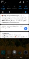 Notification shade - Huawei Mate 10 Pro review