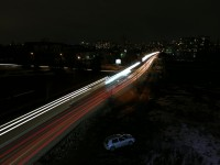 Light Painting - Car Trails, 34.3s - Huawei Mate 9 Pro review