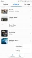 Contextual menus - Huawei Mate 9 Pro review