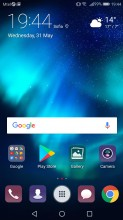 app drawer shortcut - Huawei P10 Lite review