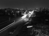 20MP monochrome tripod night, 3.2s - Huawei P10 review