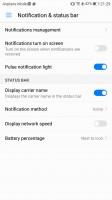Notifications - Huawei P10 review