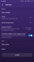 The music player - Huawei P10 review