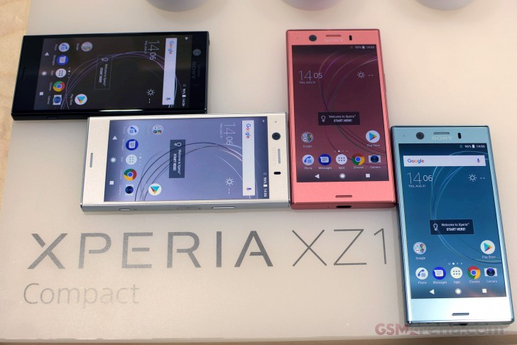 Ifa 2017 Xperia Xz1 Compact Hands On review