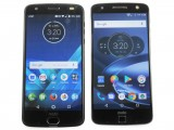 Moto Z2 Force (left), Moto Z (right): front - f/13.0, ISO 100, 1/13s - Lenovo Moto Z2 Force review
