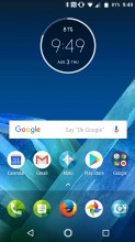 Home screen 1 - Lenovo Moto Z2 Force review