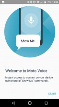 Moto Voice - Lenovo Moto Z2 Force review