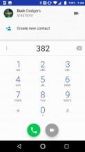 Dialer: Pad - Lenovo Moto Z2 Force review