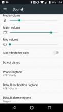 Sound settings - Lenovo Moto Z2 Force review