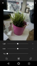 Photo preview • Photo editor: crop and rotate - Lenovo Moto Z2 Force review