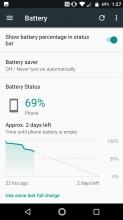 Battery options - Lenovo Moto Z2 Force review