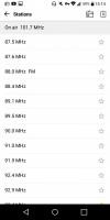 FM Radio player - LG G6 review