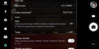 Camera settings - LG Q6 Review