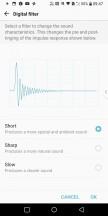 Quad DAC settings - LG V30 review