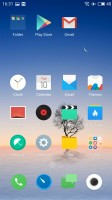 Homescreen - Meizu Pro 6 Plus review