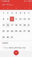 Calendar - Meizu Pro 6 Plus review