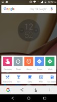 Google Now on tap - Motorola Moto M review