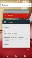 Task switcher - Motorola Moto M review