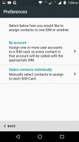 Dual SIM settings - Motorola Moto M review