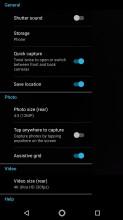 Camera interface - Moto Z2 Play review