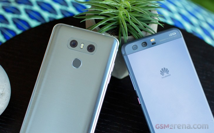 Huawei P10 vs. LG G6 camera shootout