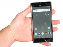 Handling the Xperia XZ Premium - Sony Xperia XZ Premium hands-on