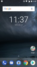 Home screen - Nokia 5 review