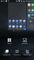 Homescreen options - Nokia 6 review