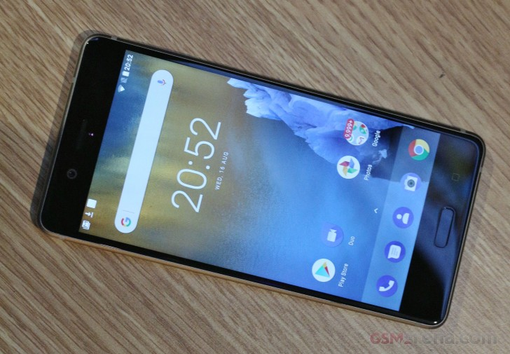 Nokia 8 hands-on