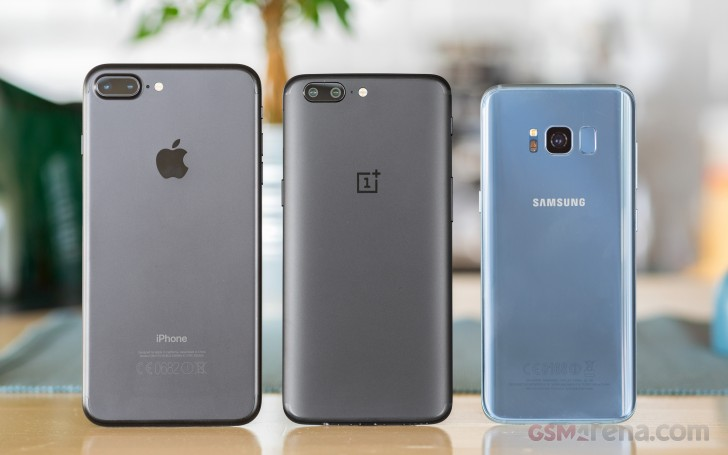 oneplus one vs iphone 6 gsmarena