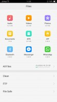 File manager - Oppo F3 Plus review