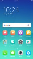 The homescreen houses all installed apps - Oppo F3 review