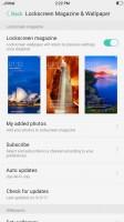 Lockscreen settings - Oppo F3 review