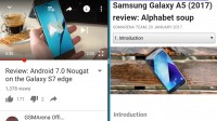 Landscape view - Samsung Galaxy S7 Edge Nougat review