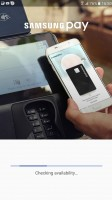 Samsung Pay - Samsung Galaxy A7 (2017) review