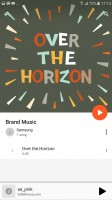 Google Play Music - Samsung Galaxy A7 (2017) review
