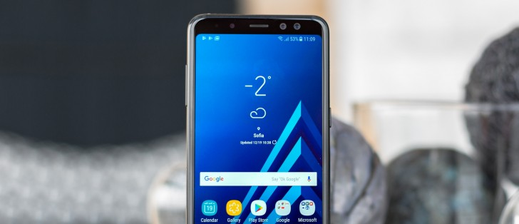 Samsung Galaxy A8 2018 Hands On Review Software Benchmarks Camera