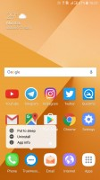 Homescreen - Samsung Galaxy C9 Pro review