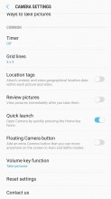 Pretty basic settings menu - Samsung Galaxy J7 (2017) review