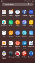 App drawer - Samsung Galaxy J7 Pro review